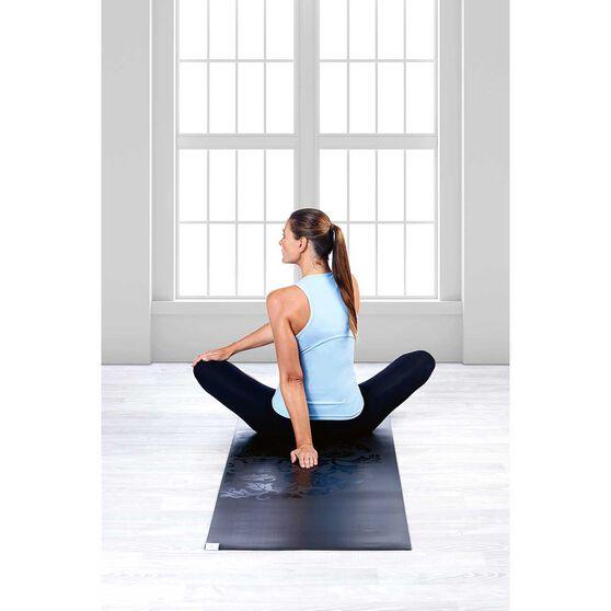 Gaiam Dry Grip 5mm Yoga Mat and Sling Black, , rebel_hi-res