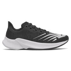 New Balance FuelCell Prism Kids Running Shoes Black/White US 4, Black/White, rebel_hi-res