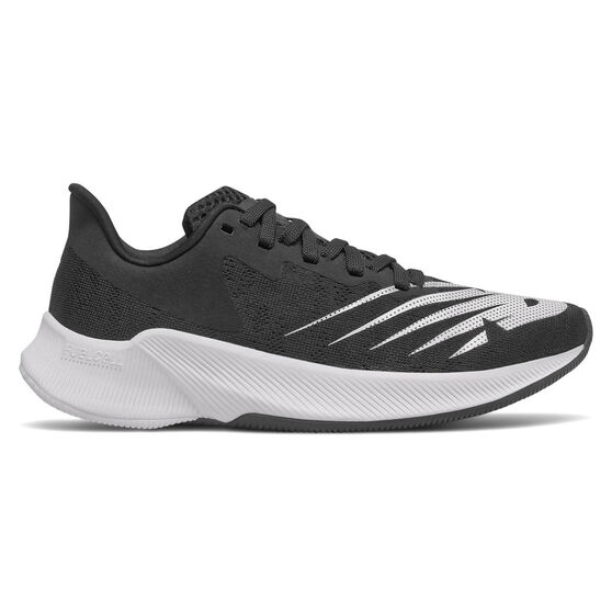 New Balance FuelCell Prism Kids Running Shoes, Black/White, rebel_hi-res