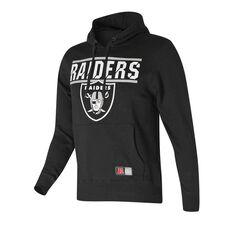Oakland Raiders Flex Team Hoodie Black S, Black, rebel_hi-res