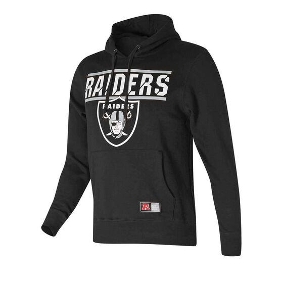 Oakland Raiders Flex Team Hoodie Black M, Black, rebel_hi-res