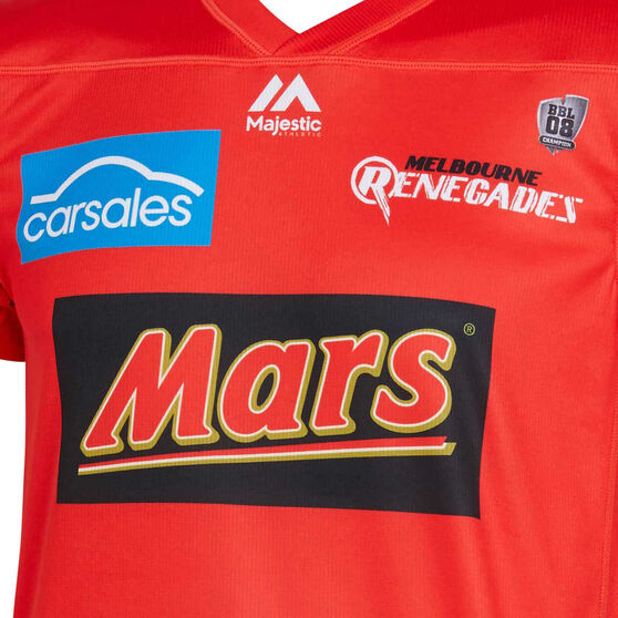 Melbourne Renegades 2019/20 Kids BBL Jersey, Red, rebel_hi-res
