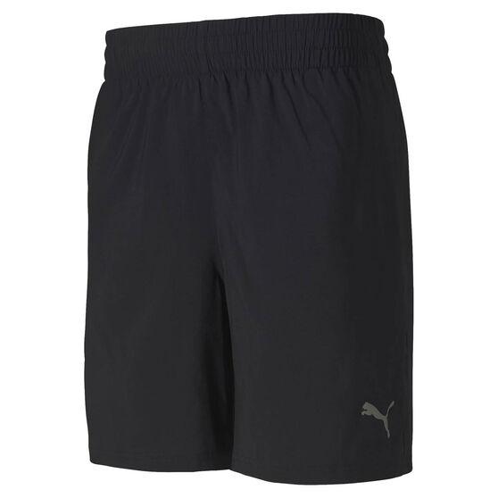 Puma Mens Blaster Woven 7in Training Shorts Black S, Black, rebel_hi-res