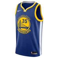 Nike Golden State Warriors Kevin Durant 2019 Mens Swingman Jersey Rush Blue S, Rush Blue, rebel_hi-res