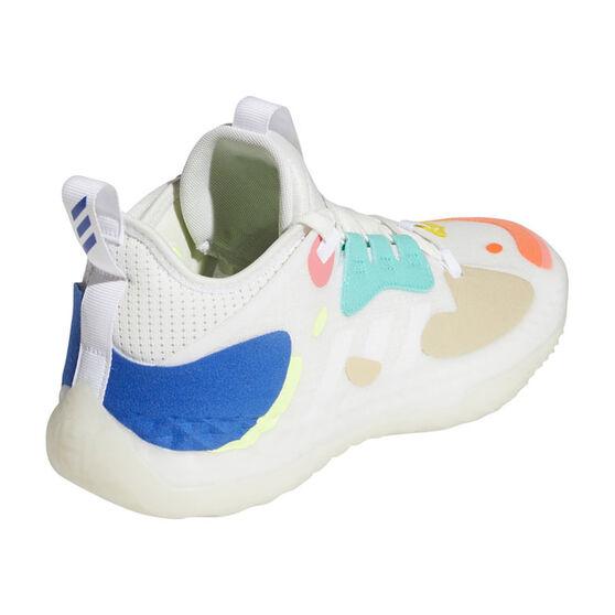 adidas Harden Vol. 5 Futurenatural Basketball Shoes, White, rebel_hi-res