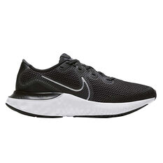 Nike Renew Run Kids Running Shoes Black US 4, Black, rebel_hi-res
