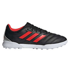 adidas Copa 19.3 Touch and Turf Boots Black / Red US Mens 7 / Womens 8, Black / Red, rebel_hi-res