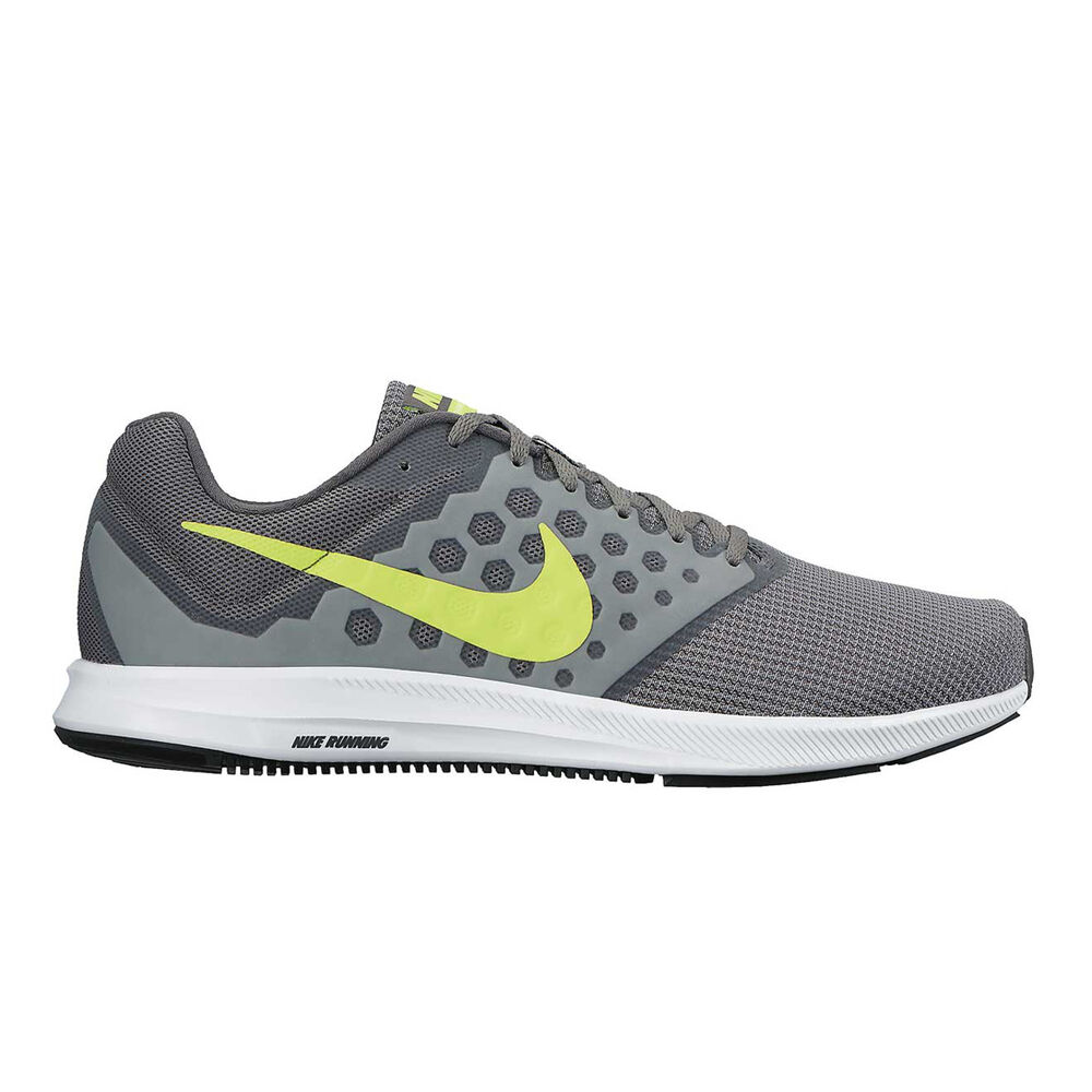 sports shoes 5afb3 db787 Nike Downshifter 7 Mens Running Shoes Grey   Green US 10.5, Grey   Green,