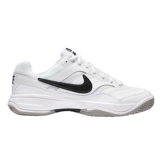 buy online a4d51 7e4c5 Nike Court Lite Mens Tennis Shoes White  Black US 7, White  Black,