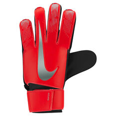 Nike Match Junior Goalkeeper Gloves Red / Silver 4, Red / Silver, rebel_hi-res