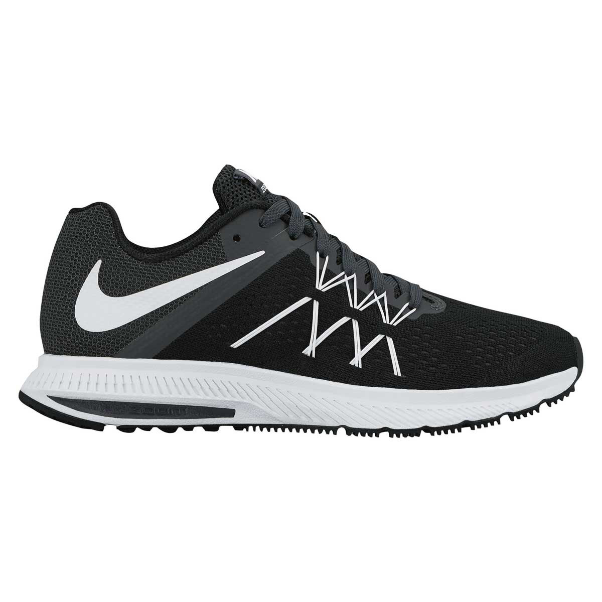 online retailer e9504 d8630 ... official store nike zoom winflo 3 womens running shoes blue black us 6  blue black 81616
