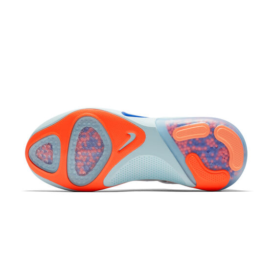 Nike Joyride Womens Running Shoes, White / Blue, rebel_hi-res
