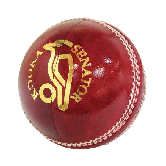Kookaburra Senator 142g Cricket Ball Red, , rebel_hi-res