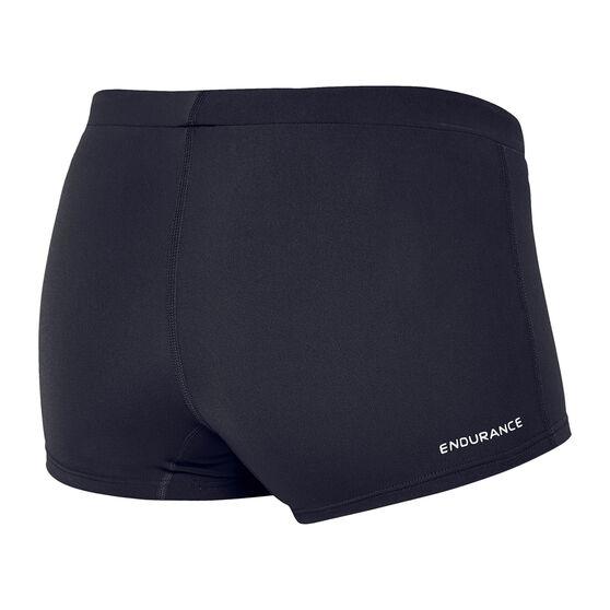 Speedo Womens Swim Boyleg Swim Shorts, Black, rebel_hi-res