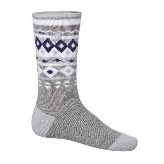 Heat Holders Womens Fairisle Stripe Lite Socks US 4- 8, , rebel_hi-res