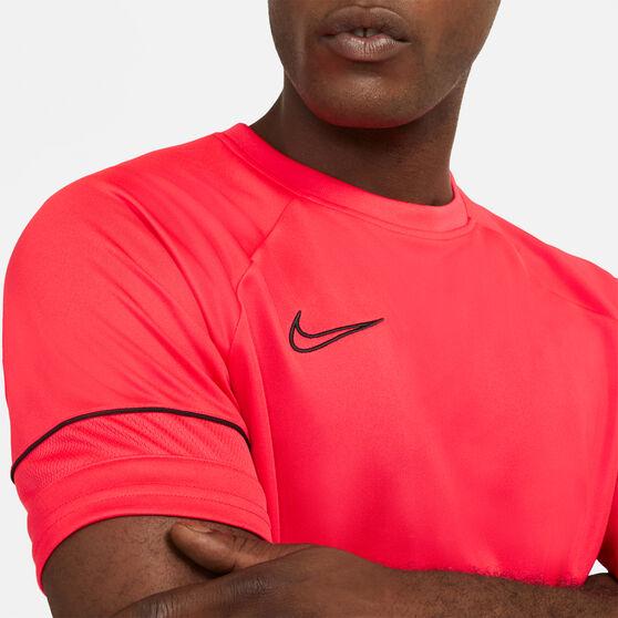 Nike Mens Dri-FIT Academy 21 Soccer Tee, Red, rebel_hi-res