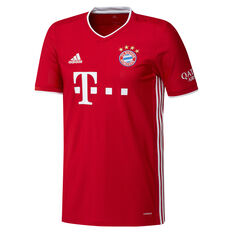 FC Bayern Munich 2020/21 Mens Home Jersey Red XS, Red, rebel_hi-res