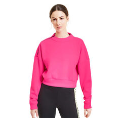 Puma Womens Be Bold Sweatshirt, Pink, rebel_hi-res