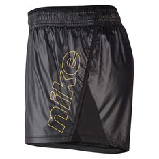 Nike Womens 10K Glam Dunk Running Shorts Black XS, Black, rebel_hi-res
