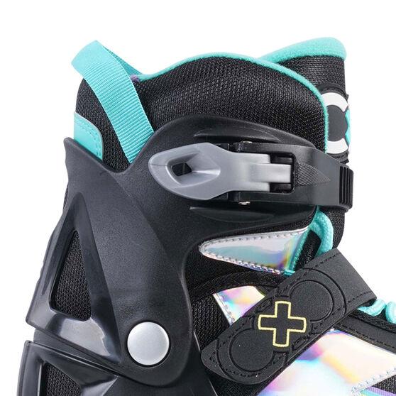 Goldcross GXC245 Light Up Inline Skates, Mint, rebel_hi-res