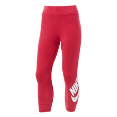 Nike Girls Volume Fleece Futura Jogger Pants Pink 4, Pink, rebel_hi-res