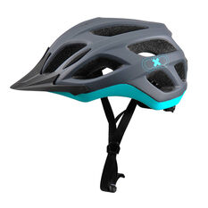 Goldcross Voyager Bike Helmet Grey / Teal M, Grey / Teal, rebel_hi-res