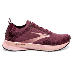 Brooks Levitate 4 Womens Running Shoes Purple US 6, Purple, rebel_hi-res