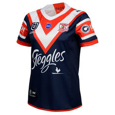 Sydney Roosters 2020 Womens Home Jersey Navy/Red 8, Navy/Red, rebel_hi-res