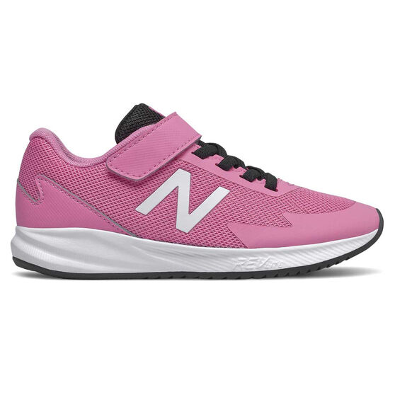 New Balance 611 Kids Casual Shoes, Pink/White, rebel_hi-res
