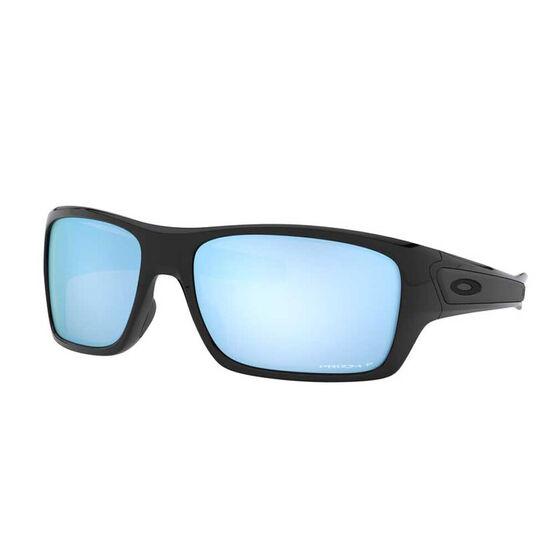 Oakley Turbine Polarised Sunglasses Black Prizm, Black Prizm, rebel_hi-res