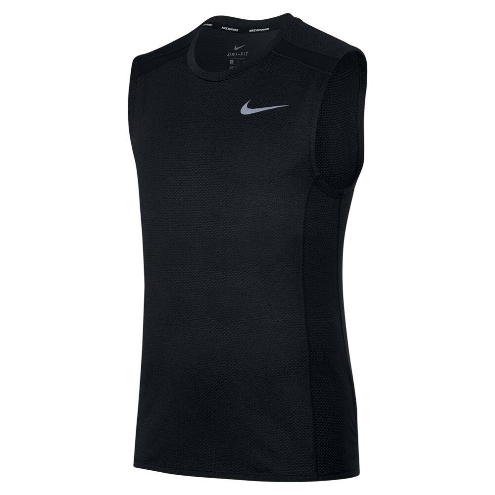0e48b8bd2707a Nike Mens Cool Miler Sleeveless Running Top Black S