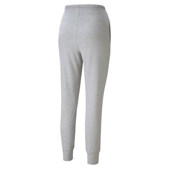 Puma Womens Exhale High Waist Rib Jogger Pants, Grey, rebel_hi-res