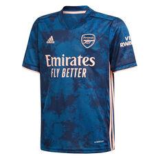 Arsenal FC 2020/21 Kids 3rd Jersey Blue 8, Blue, rebel_hi-res