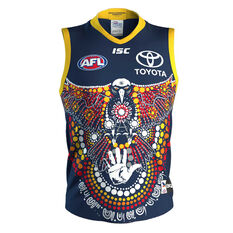 Adelaide Crows 2020 Mens Indigenous Guernsey Blue S, Blue, rebel_hi-res