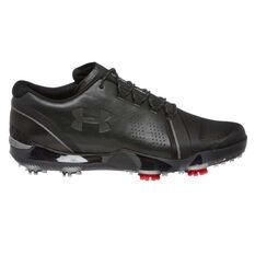 Under Armour Spieth 3 Mens Golf Shoes Black US 7, Black, rebel_hi-res