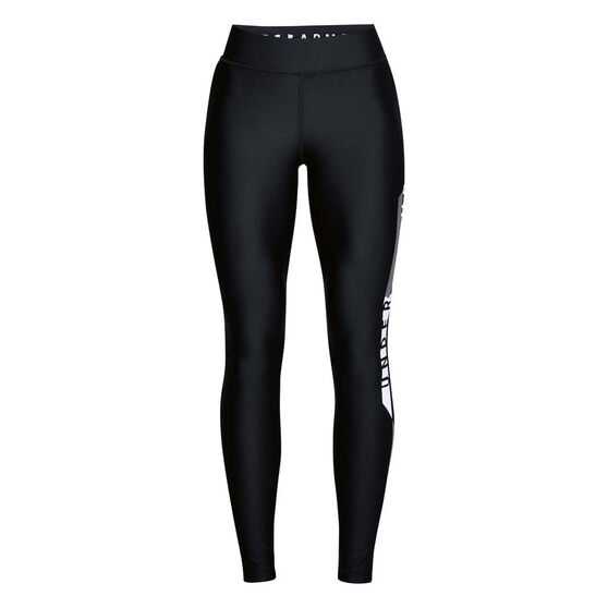 Under Armour Womens HeatGear Armour Graphic Leggings, , rebel_hi-res