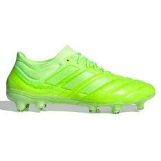 adidas Copa 20.1 Football Boots Green US Mens 5 / Womens 6, Green, rebel_hi-res
