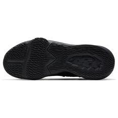 Nike Lebron XVII Low Mens Basketball Shoes Black/Red US 7, Black/Red, rebel_hi-res