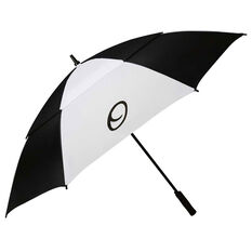 Optima Double Canopy Golf Umbrella Black / White 64in, , rebel_hi-res