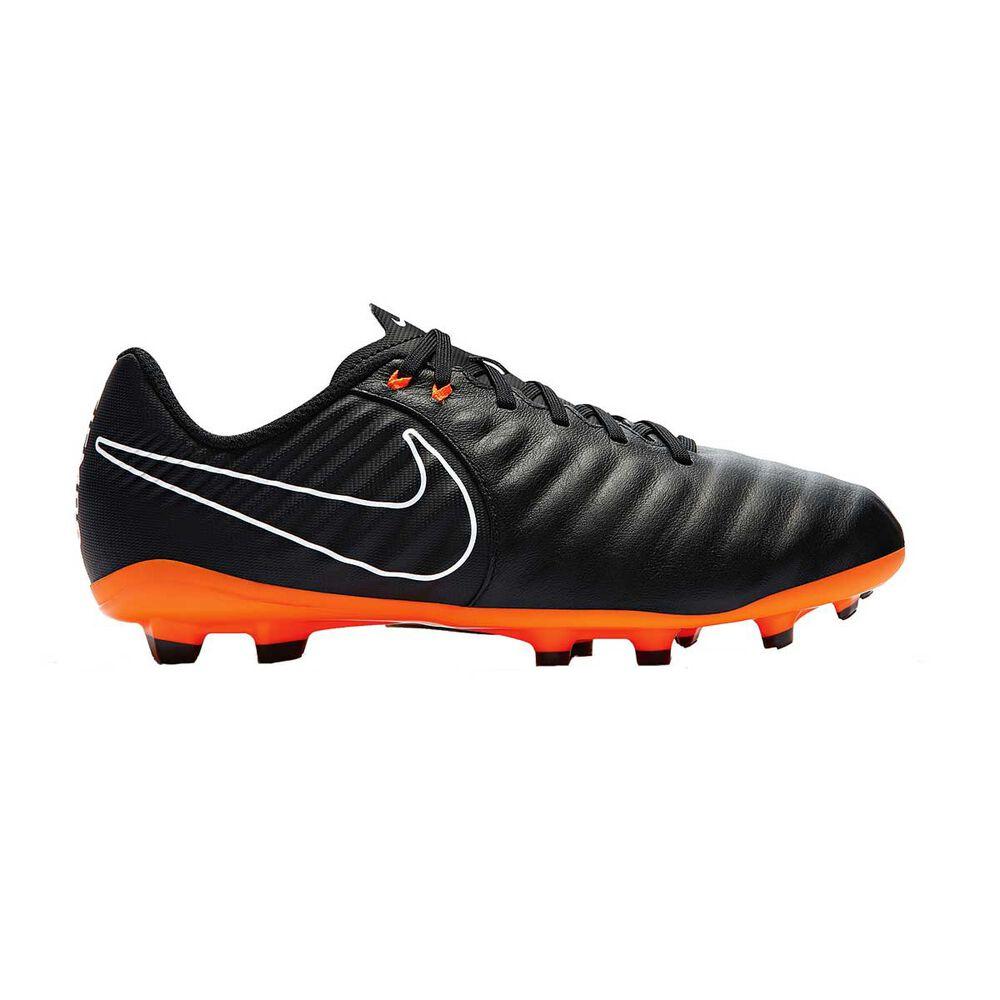 c730836be Nike Tiempo Legend VII Academy FG Mens Football Boots Black / Orange US  11.5 Adult,