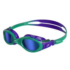 Speedo Futura Biofuse Flexiseal Mirror Junior Swim Goggles, , rebel_hi-res