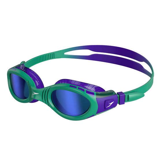 Speedo Futura Biofuse Flexiseal Mirror Junior Swim Goggles, , rebel_hi-res