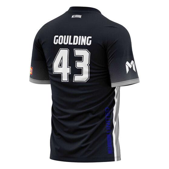 Melbourne United Chris Goulding Mens Shooting Tee, Black, rebel_hi-res