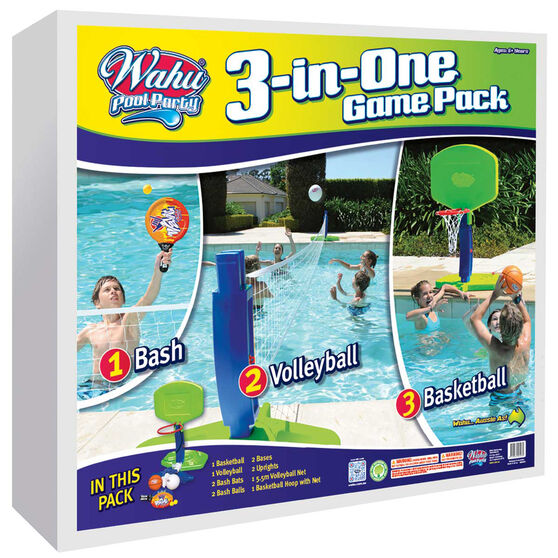 Wahu 3 in 1 Pool Set, , rebel_hi-res