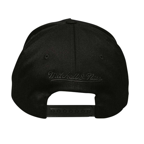 LA Lakers Black On Black 110 Pinch Cap, , rebel_hi-res