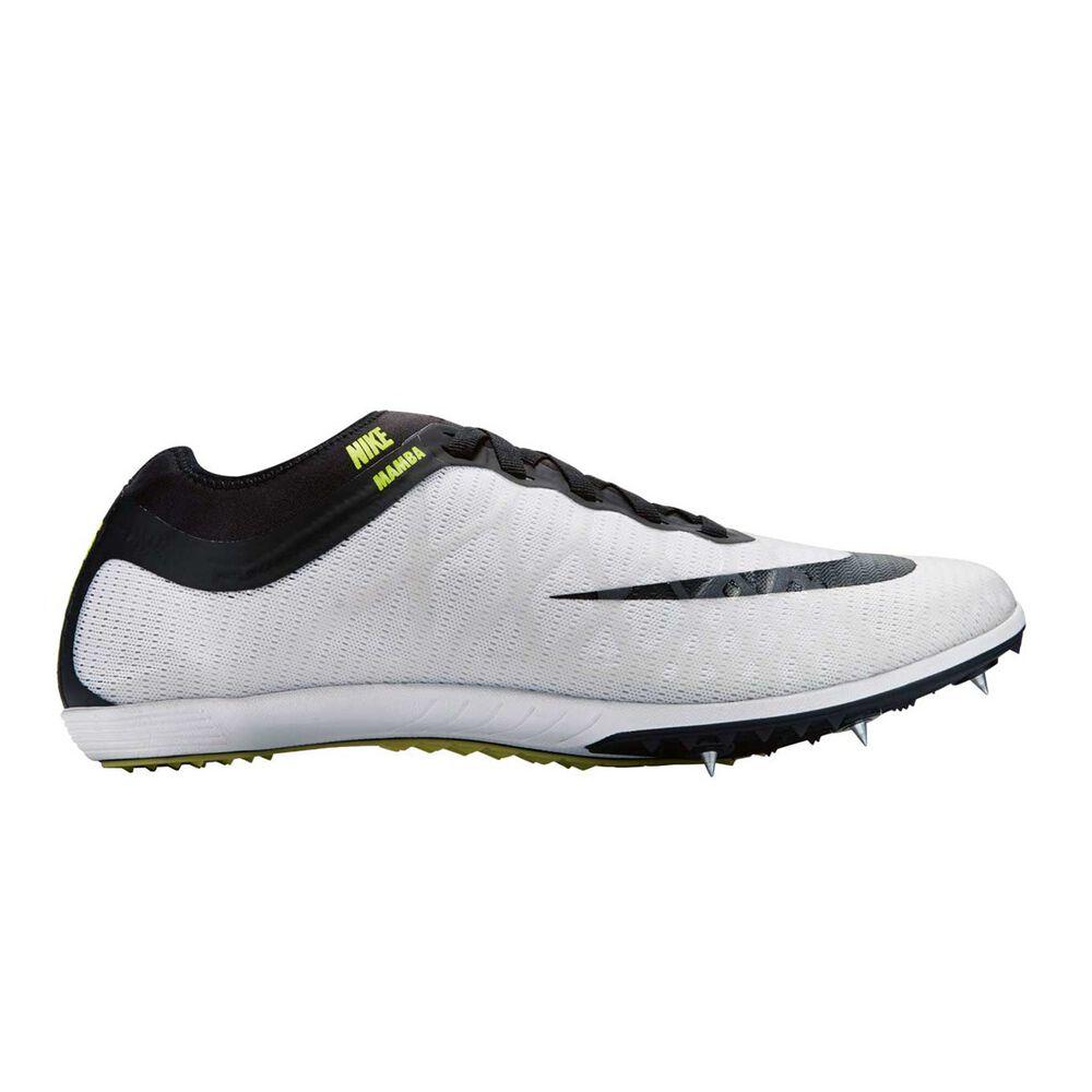 new concept 00547 6ff1b Nike Zoom Mamba 3 Mens Track Shoes White   Black US 9, White   Black