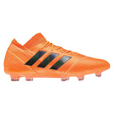 adidas Nemeziz 18.1 Mens Football Boots Orange / Black US 13, Orange / Black, rebel_hi-res