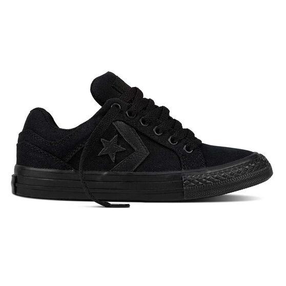 Converse El Distrito Kids Casual Shoes, Black, rebel_hi-res
