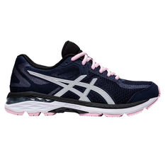Asics GEL Glyde 2 Womens Running Shoes Black/Silver US 6, Black/Silver, rebel_hi-res