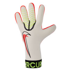 Nike Mercurial Touch Victory Goalkeeping Gloves White/Red 8, White/Red, rebel_hi-res
